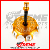 For Suzuki RM-Z450 RMZ450 2005-2018 Gold Alloy Fuel Tank Gas Cap