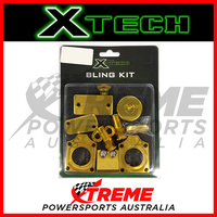 For Suzuki RMZ450 2007-2014 Gold Bling Kit Xtech Motocross MX Dirt Bike XTMBKS001