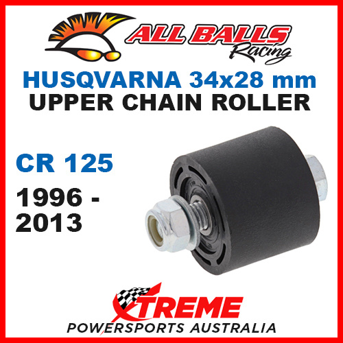 79-5001 Husqvarna CR 125 1996-2013 34x28mm Upper Chain Roller w/ Inner Bearing