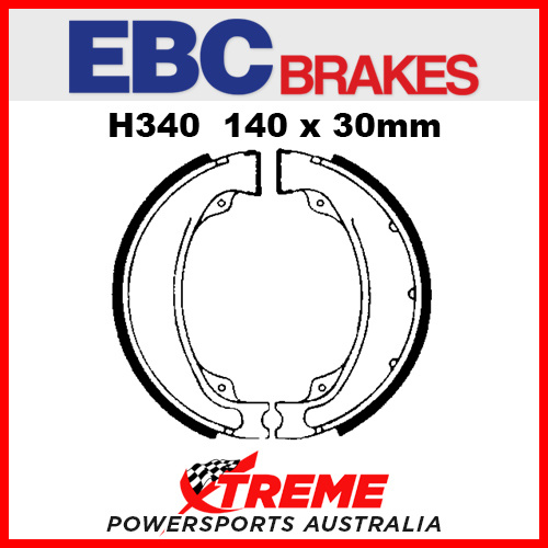 EBC Rear Brake Shoe Kymco K-Pipe 50 2012-2013 H340